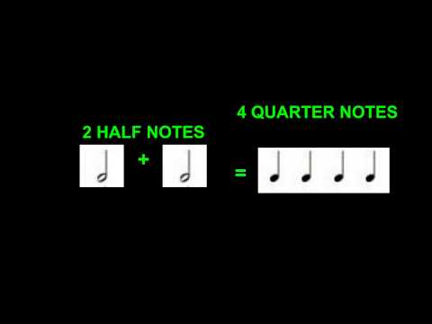Introduction to Fractions through Music