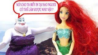 Búp bê Chibi baby doll - Nàng tiên cá đi thi the voice - A217S Nữ hoàng băng giá