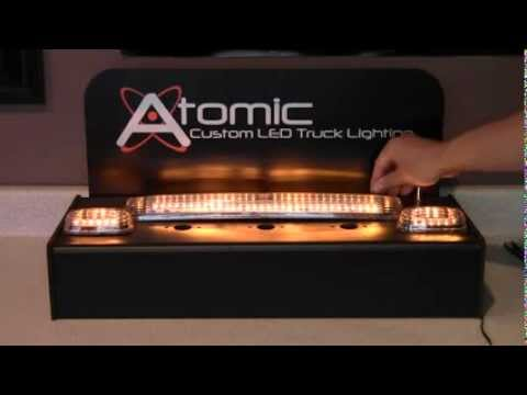 Atomic Led Gm Chevy Cab Lights Youtube