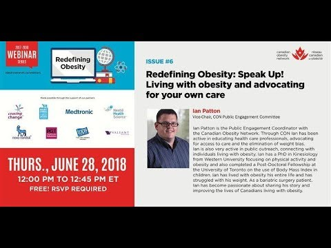 Know It 2 Own It Advocating For Your >> Redefining Obesity Speak Up Living With Obesity And Advocating For