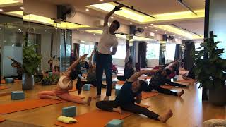 30 Minutes Hatha Yoga  Intermediate Yoga   Master Praveen