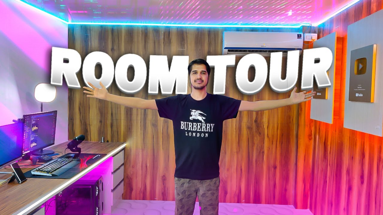 My New Gaming Room Tour 🔥🔥🔥 - Desi Gamers