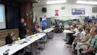 San Diego City Council Candidates Forum - Mark Schwartz at Clairemont Town Council