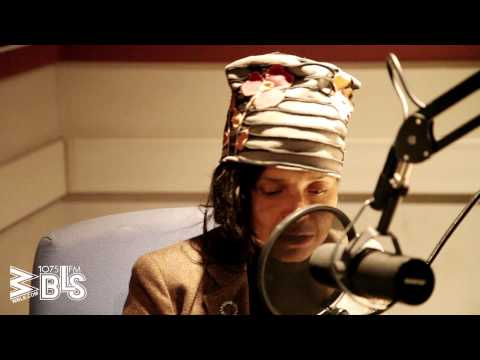 "Victoria Rowell stops by ""The Quiet Storm"" with Lenny Green at the WBLS studios"
