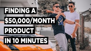 Amazon FBA Product Research HACK - $50,000/Month Product Found in 10 Minutes