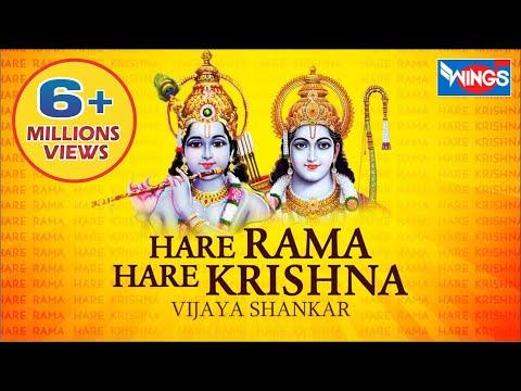 Hare Krishna Hare Rama - Beautiful Chant - Krishna Bhajan - Krishna Maha Mantra Nonstop