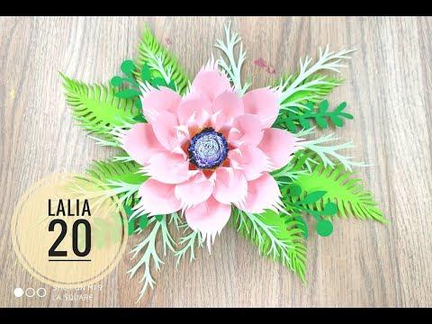 Lalia 20 cardstock DIY Paper flower backdrop