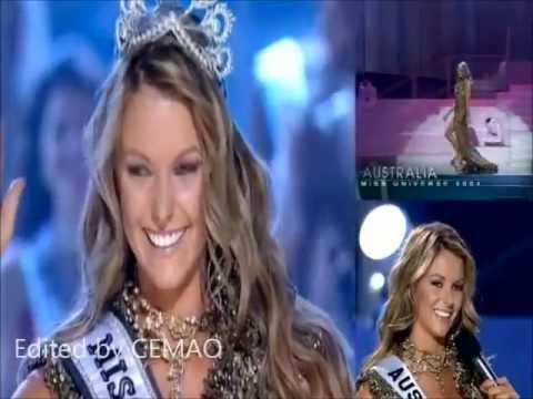 Jennifer Hawkins ( Australia ), Miss Universe 2004 - Crowning Moment