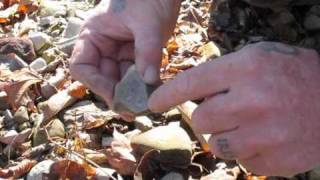 Identifiying Flint Chert and other Sparking Rocks