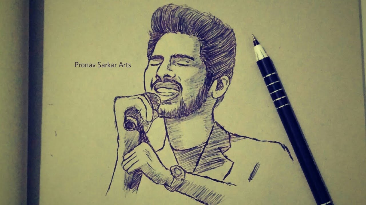 Arman malik singing new most amazing heart touching video speed drawing