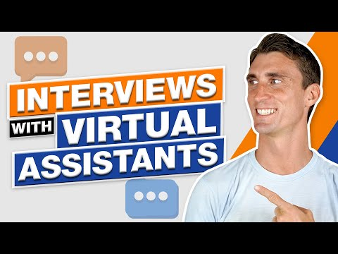 Interviews With Virtual Assistants
