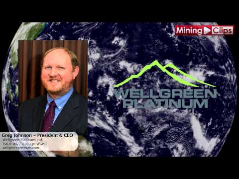 """Mining Pitch"" - Wellgreen Platinum President & CEO, Greg Johnson..."