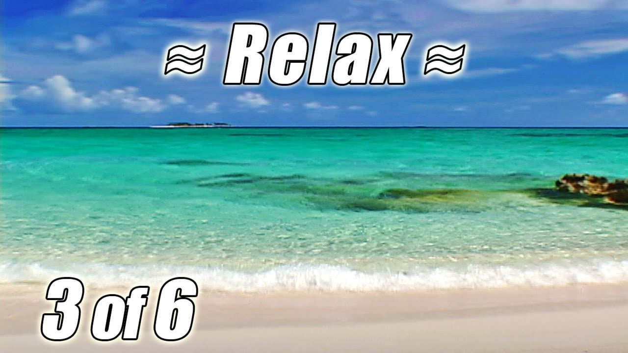 Tropical Island Beach Ambience Sound: #1 RELAXING Ocean Sounds #3 CARIBBEAN BEACHES DVD Relax