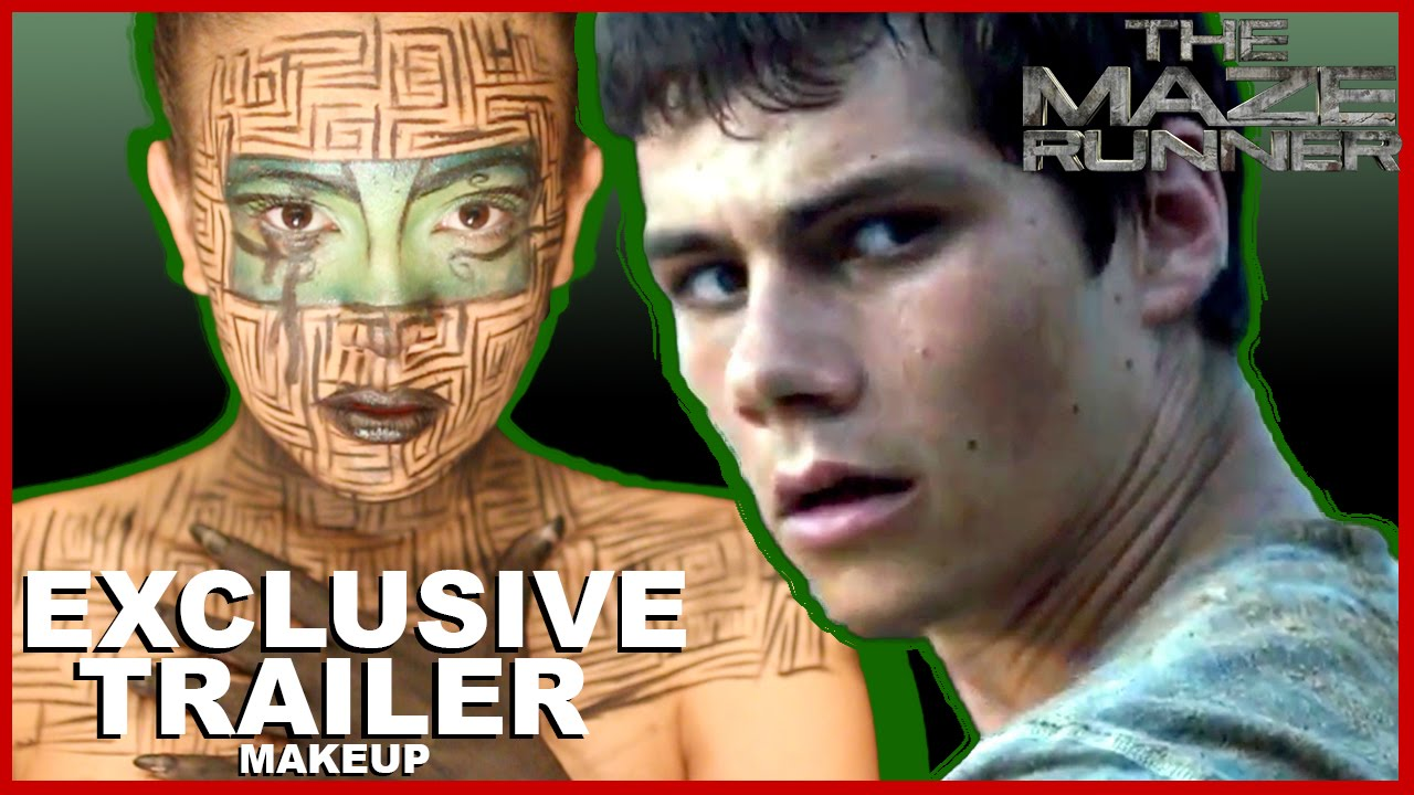 Download The Maze Runner Official Trailer Makeup Tutorial (2014) Dylan O'Brien Dystopian Movie HD