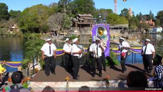 New Orleans Traditional Jazz Band - New Orleans Bayou Bash! - Disneyland - Opening Day