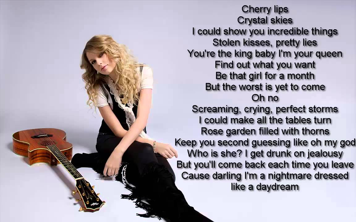 Download Taylor Swift - Blank Space Lyrics