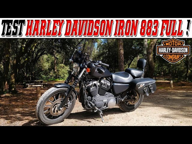 #MotoVlog 190 : TEST HARLEY DAVIDSON Sportster Iron 883 2014 FULL /  Manque un Stage 1 ?!