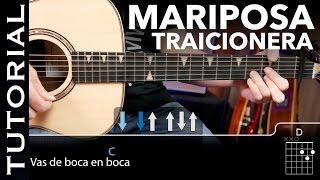 Cómo tocar Mariposa Traicionera de Maná en guitarra acordes y solo acústica guitarraviva