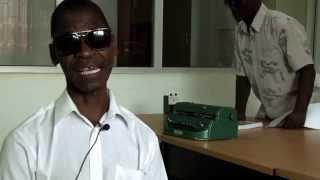 Professores com deficiência visual formados pela EPF de Nhamatanda da ADPP Moçambique