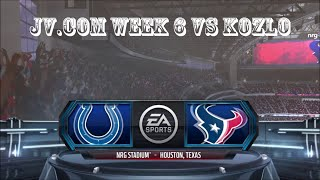 HIGHLIGHTS TEXANS VS COLTS WEEK 6 JV.COM