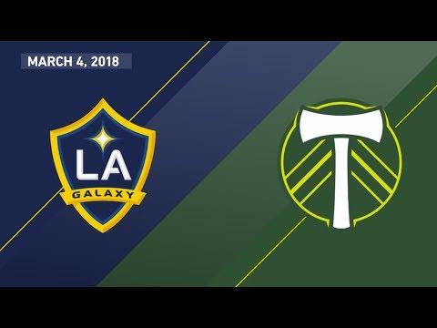 HIGHLIGHTS: LA Galaxy vs. Portland Timbers | March 4, 2018