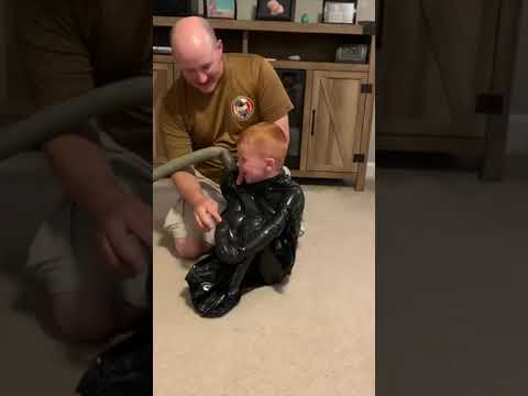Joey Brooks - Dad Vacuum Seals Kid in Garbage Bag