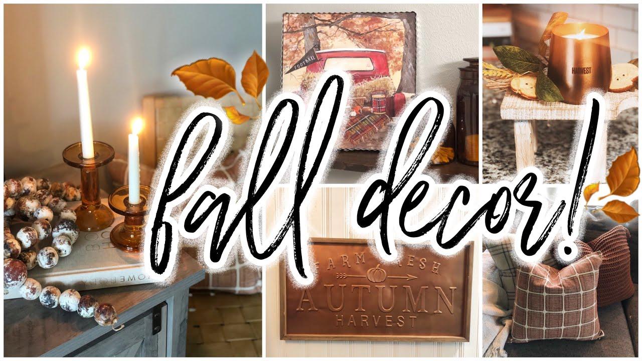 HUGE Fall Decor Haul 2020! + Halloween | Target | Kirklands | Michaels | Joanns | Amazon | Homegoods