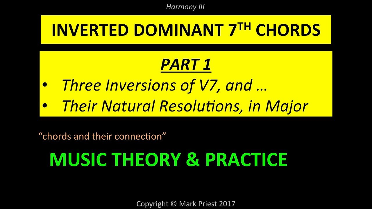 Inverted dominant 7th chords resolved naturally youtube inverted dominant 7th chords resolved naturally hexwebz Image collections