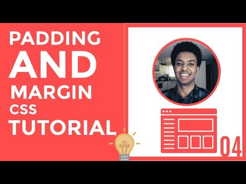 👨🏾💻04: PADDING AND MARGIN | CSS TUTORIAL👨🏾💻 thumbnail