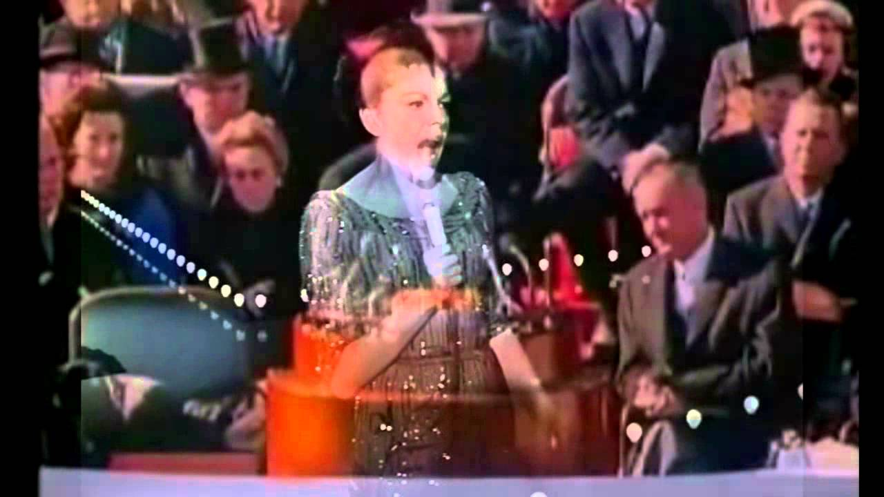 JUDY GARLAND PAYS TRIBUTE TO JOHN KENNEDY BATTLE HYMN OF THE REPUBLIC