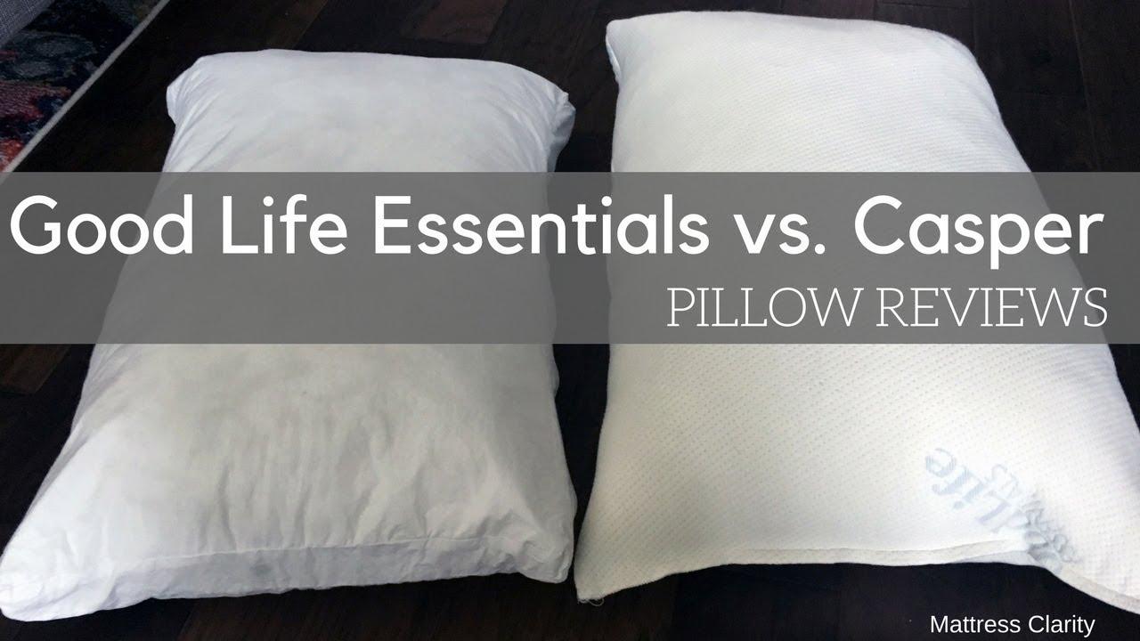 sports shoes ec0f7 2ceeb Pillow Reviews: Good Life Essentials vs. Casper - Mattress ...