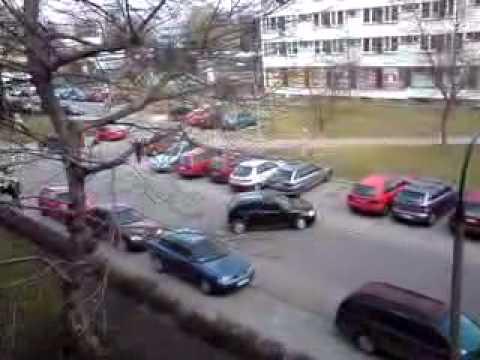Parkowanie studentki - MS AGH