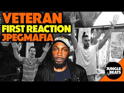 JPEGMAFIA - Veteran REACTION/REVIEW (Jungle Beats)