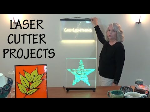 Overview of Recent Laser Cutter Projects
