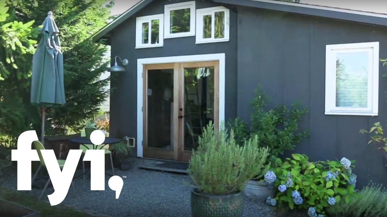 Tiny house nation a tour of minimalist living s1 e6 for Tiny house minimalist