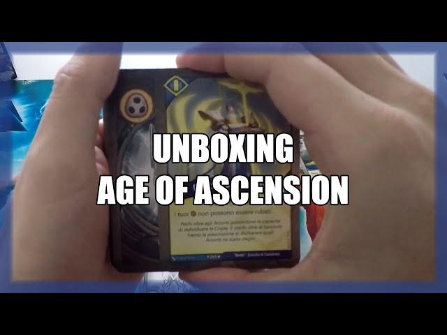 Penso sia il mazzo più forte sbustato fino ad ora | Unboxing AoA #6 | Keyforge