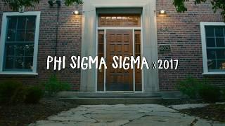 Phi Sigma Sigma: Illinois Recruitment 2017 Teaser