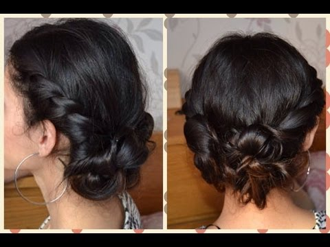 Прически со жгутиками из волос
