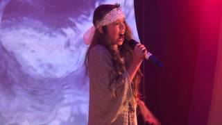 TITANIUM - DAVID GUETTA performed by COURTNEY HADWIN at TeenStar singing contest