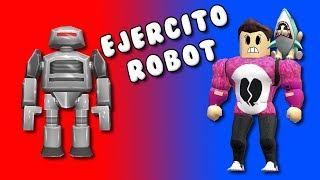 MI PROPIO EJERCITO DE ROBOTS | Cerso Roblox Robot Simulator