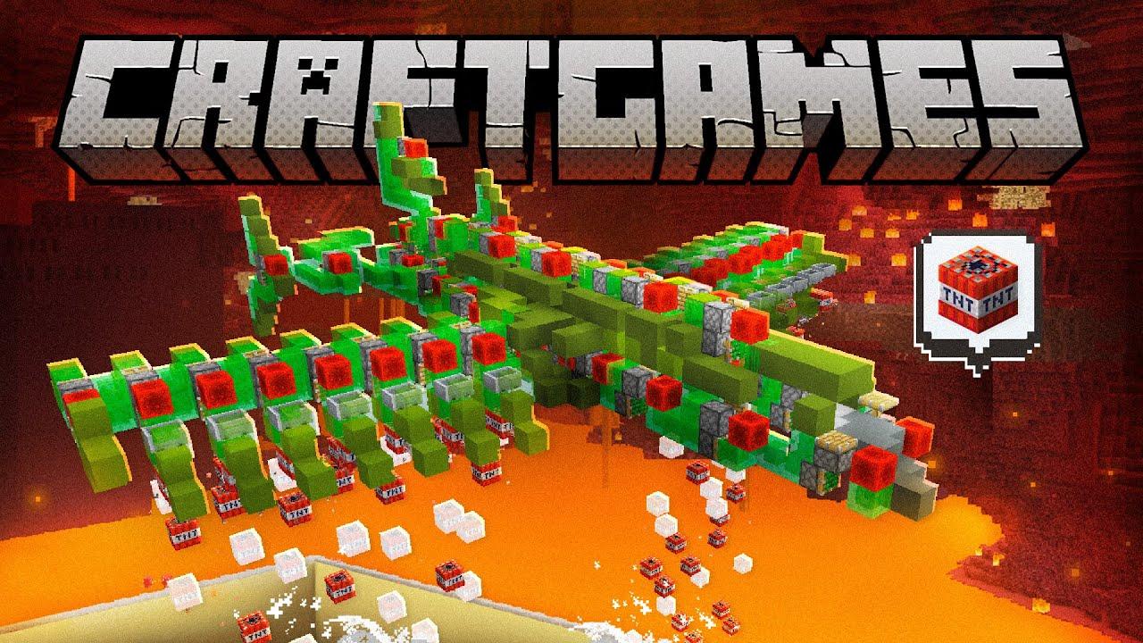 AVIÃO BOMBARDEIO no Minecraft! - Craft Games 274