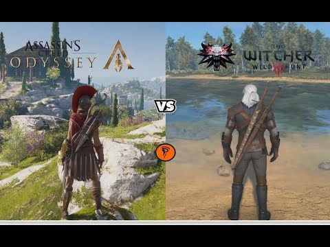 Ac Odyssey Vs Witcher 3 Wild Hunt Depth Comparison Side By