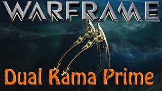 Warframe - Dual Kama Prime