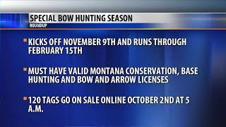FWP offering special bow hunting season in Roundup