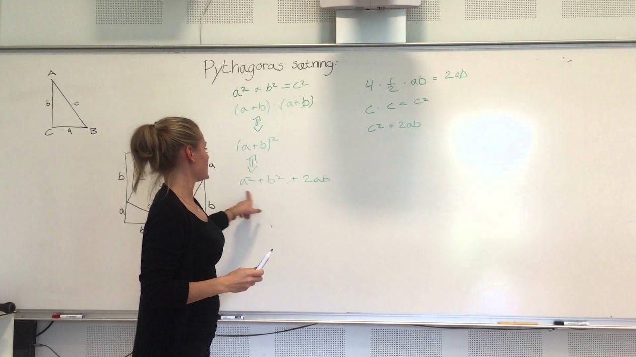 Sætning 2,1 s. 201: Pythagoras