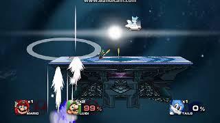 SSF2: Mario Y Luigi VS Sonic Y Tails
