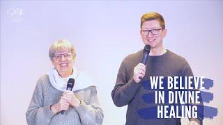 Irene Maat - We believe in Divine Healing / Wij geloven in Goddelijke Genezing (ENG-NL)