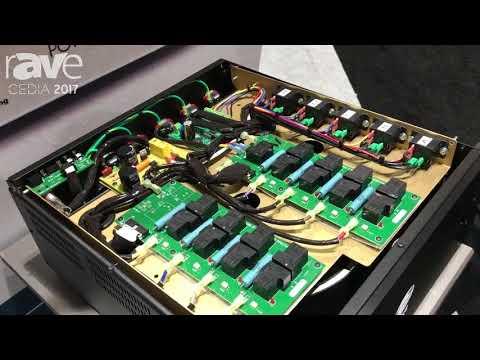 CEDIA 2017: Torus Power Displays AVR2 20 Power Conditioner