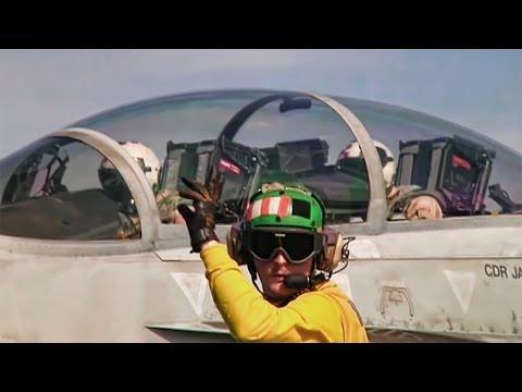 Aircraft Carrier Flight Deck • Controlled Chaos