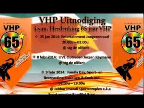 Uitnodiging ivm Herdenking VHP 65 jaar
